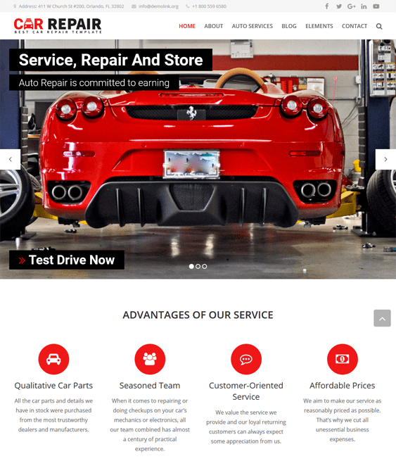 matic car vehicle automotive wordpress themes