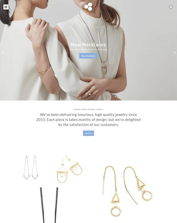 modular jewelry store shopify themes