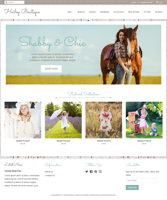 hailey fashion shopify themes clothing stores