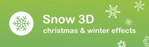 snow 3d snow shopify apps plugins