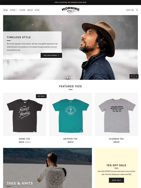 venue fashion shopify themes clothing stores
