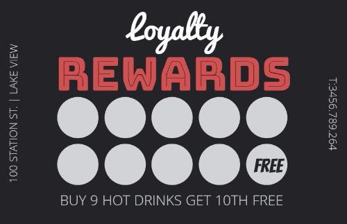 Loyalty Cards and Loyalty Card Program Design by Design Wizard - membership cards templates