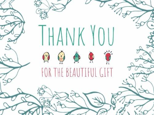 Create Your Custom Thank You Card Design - Design Wizard
