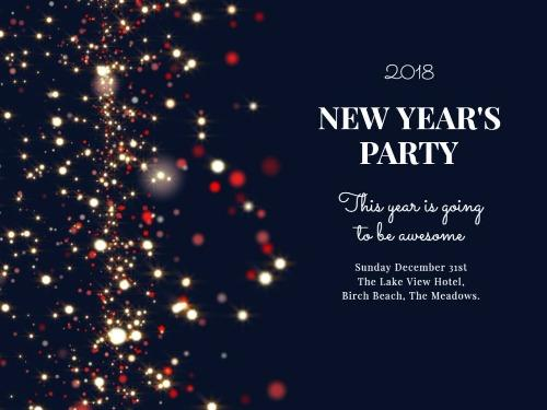 New Years Eve Day - Create Perfect Invitations with Design Wizard