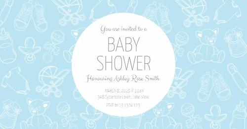Baby Shower Invitations made Easy with Design Wizard Invitations Maker