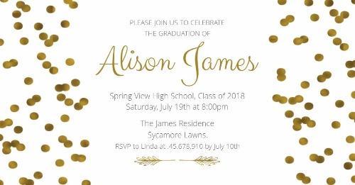Graduation Party Invitations  Announcements - Design Wizard