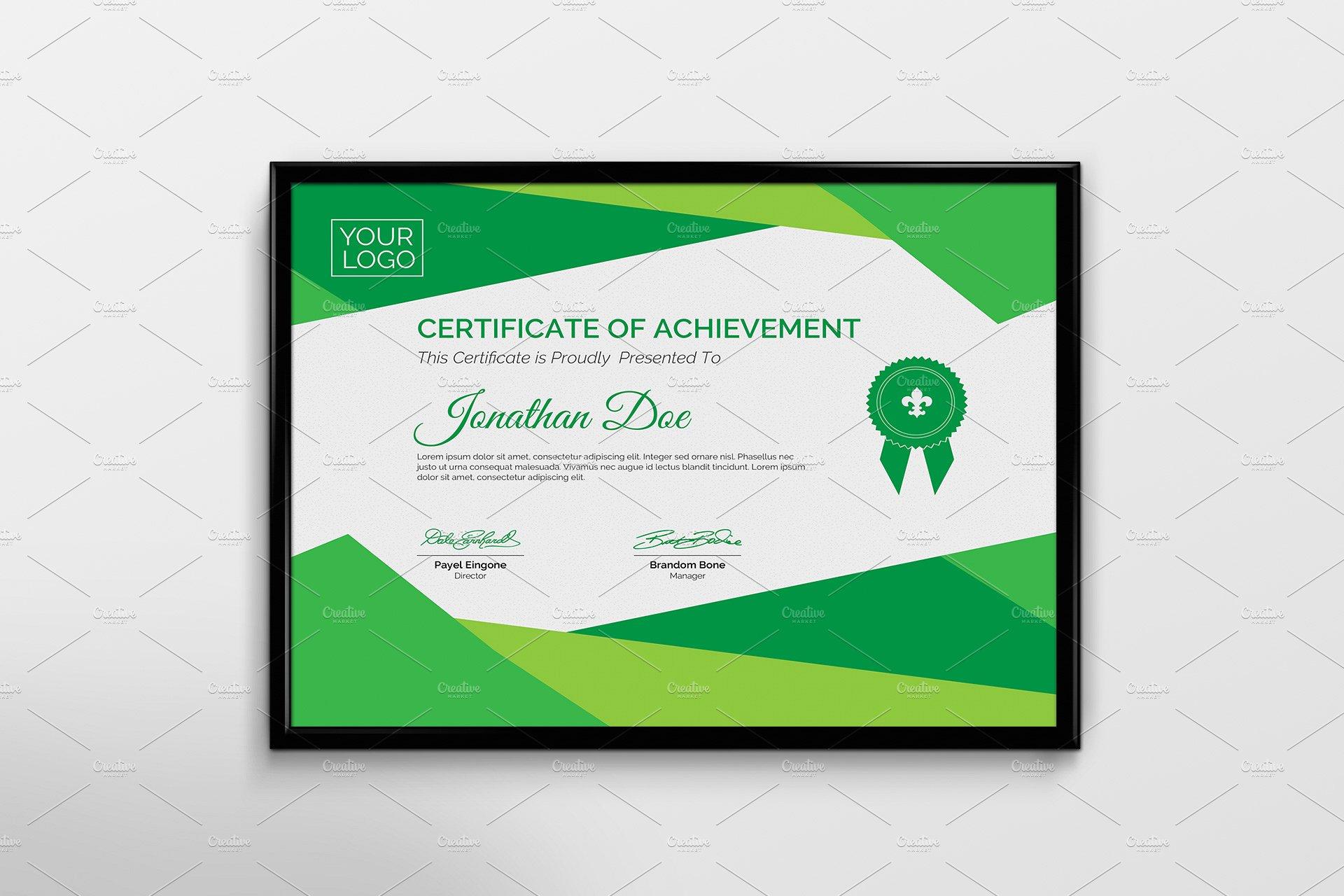 certificate border template word