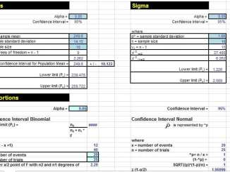 Statistical process control for dummies for Attribute gage r r excel template