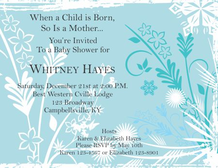 Baby Shower Invitation 1 - baby shower invitation template microsoft word