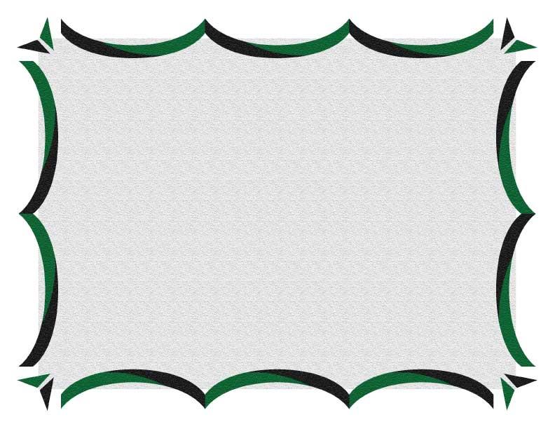 Certificate Border 3 - certificate border template