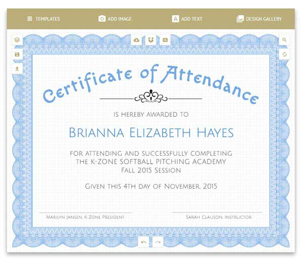 Free Certificates Templates, Borders, Frames and More - Free Printable Certificate Border Templates