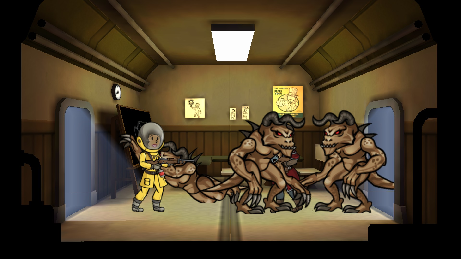 how to get fallout shelter to run in 32bit