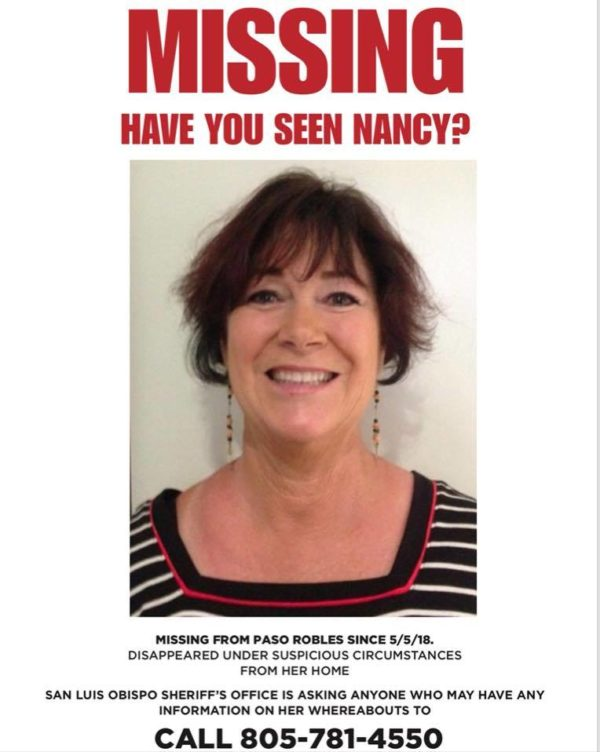 Family putting up posters of missing Paso Robles woman - Templeton - missing person posters
