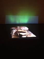 Content-Aware Fill (Zentai Suits), Netta Sadovsky. 2014 Digital Video, 9 Minute Loop