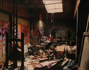 Francis Bacon's studio at 7 Reece Mews, photo: Perry Ogden