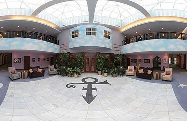 The interior of Paisley Park. Image courtesy of the Daily Mirror.