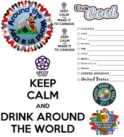 Encouragement Kidsback Wdw Epcot Designs More Temporary Tourist Drink Around World Epcot Guide Drink Around World Epcot Food Wine Festival
