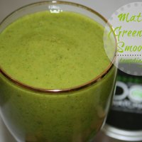 Healthy Inspiration Tuesday + Matcha {Green Tea} Smoothie