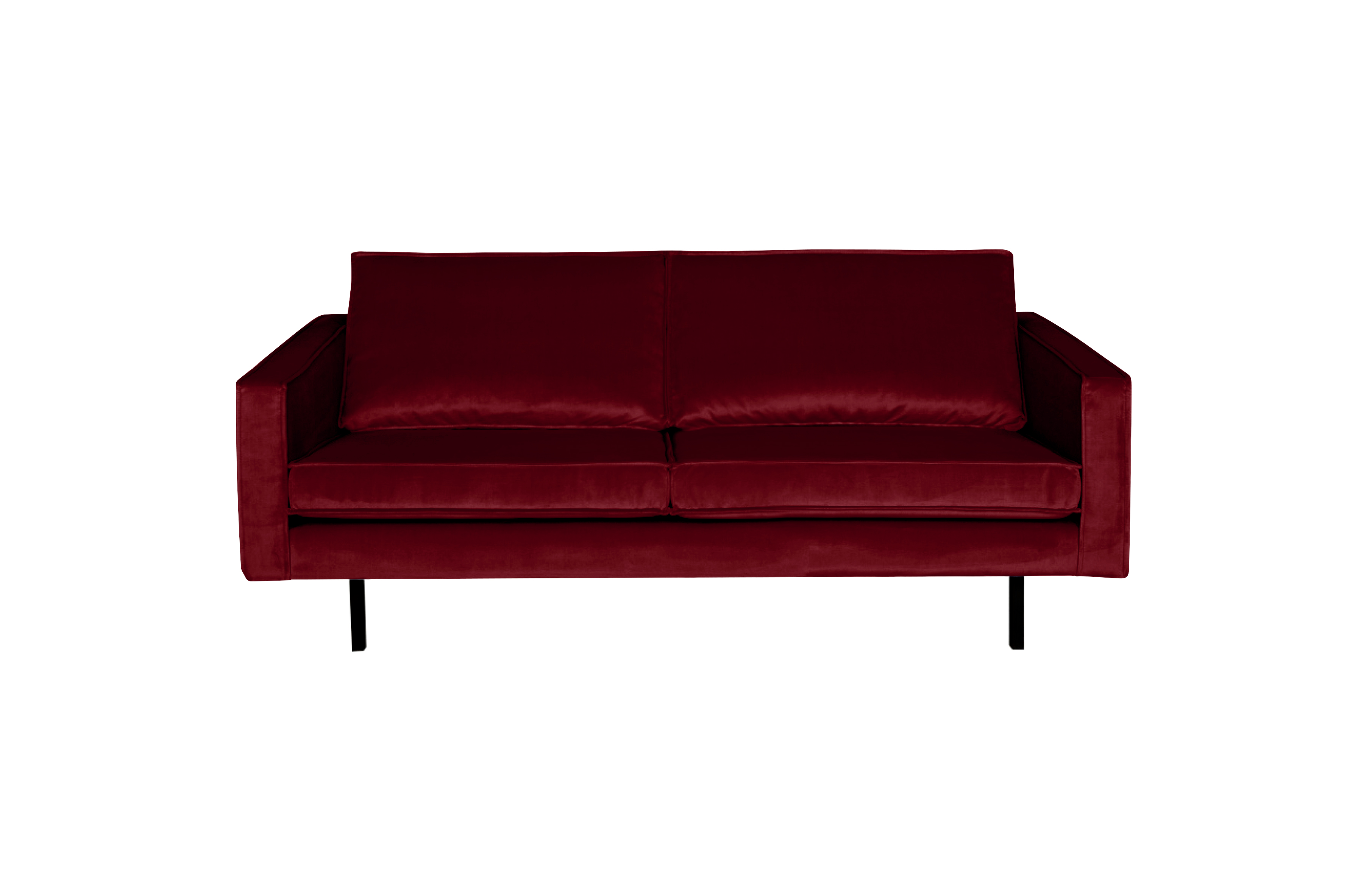 Slapen Op De Bank Be Pure Home Rodeo Bank 2 5 Zits Velvet Red
