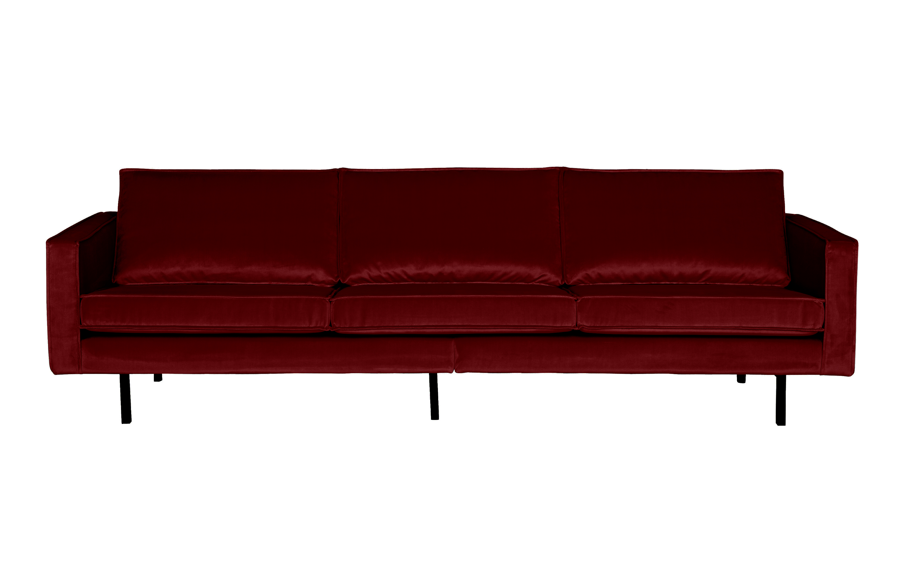 /home Be Pure Home Rodeo Bank 3 Zits Velvet Red