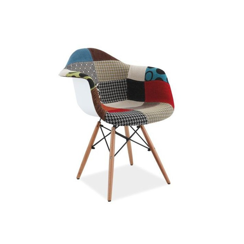 Chaise Daw Chaise Scandinave Daw Patchwork Charles & Ray Eames