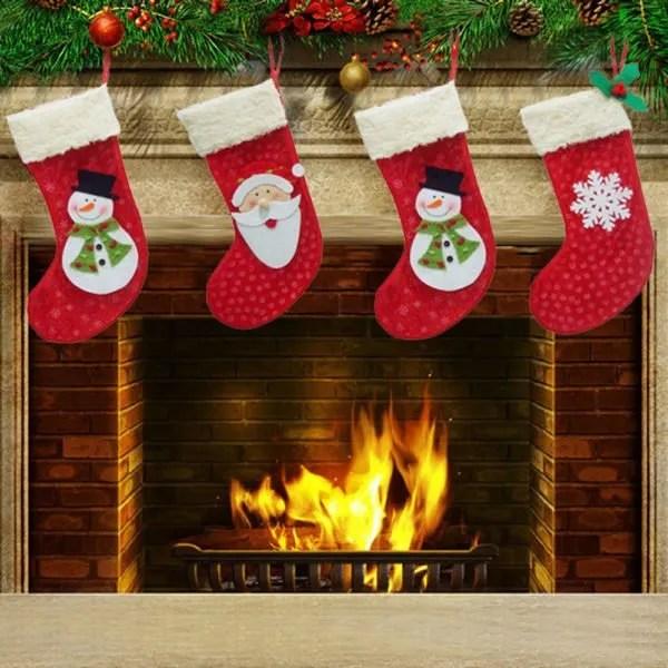 Wallpaper Natal Hd De 70 Fotos De Calcetines De Navidad 2018 Para