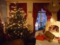 + 20 fotos de cortinas para Navidad 2018