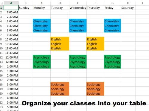 Study Schedule \u2013 Tenece Idea Mine