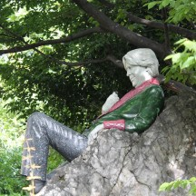 Dublino, Merrion Square, Statua di Oscar Wilde