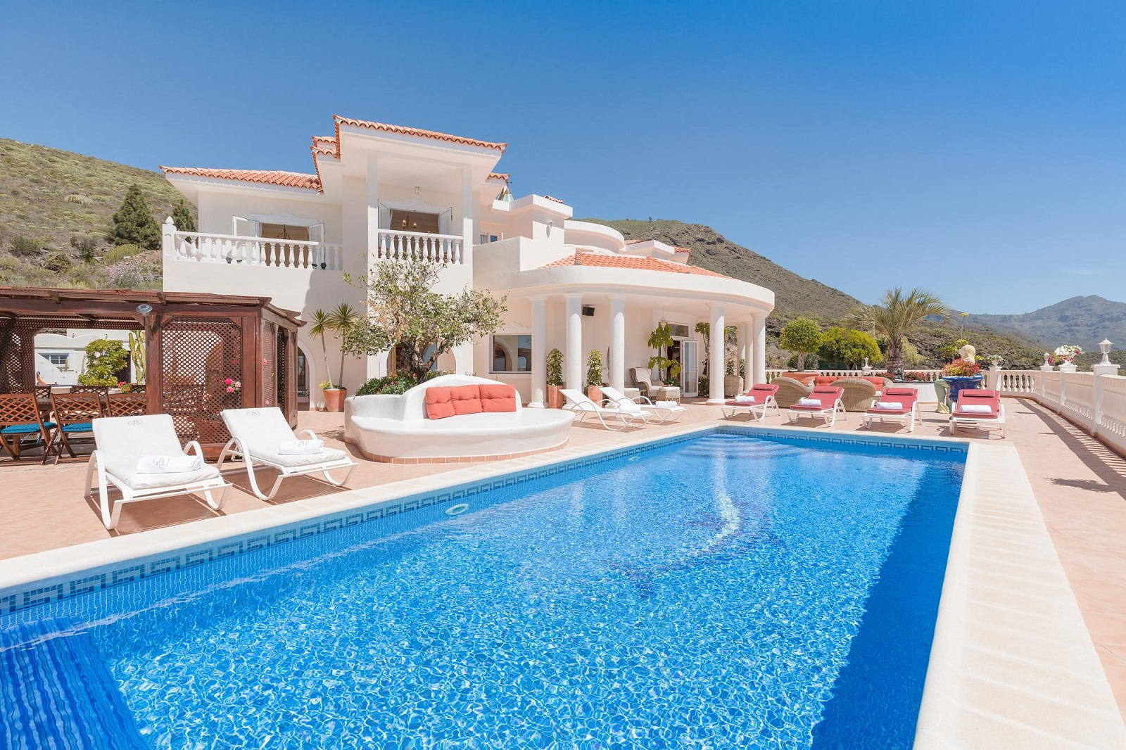 Luxury Holiday Villa With Pool Villa Monaco Adeje Luxury Holiday Rentals Tenerife Private Heated