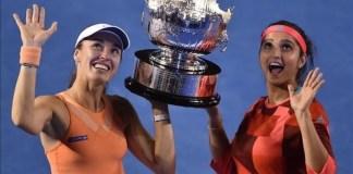 Hngins y Mirza campeonas en dobles en Australian Open