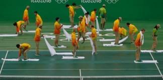 Miercoles de lluvia en los Juegos Olímpicos de Río