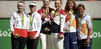 Oro Plata y Bronce en tenis