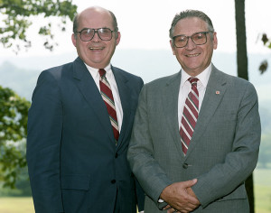 Joe Johnson and Ed Boling