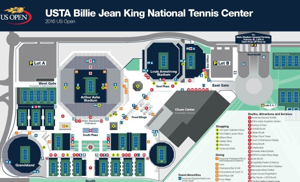 US Open Tennis NYC Tickets, Courts, Coupons, 2 for 1, Kids Day, Tips
