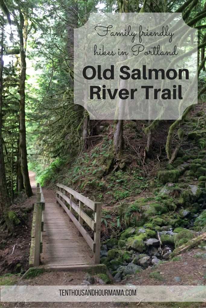 On Mt. Hood near Portland, Oregon, the Old Salmon River Trail is an easy, family-friendly hike for kids and toddlers. Ten Thousand Hour Mama