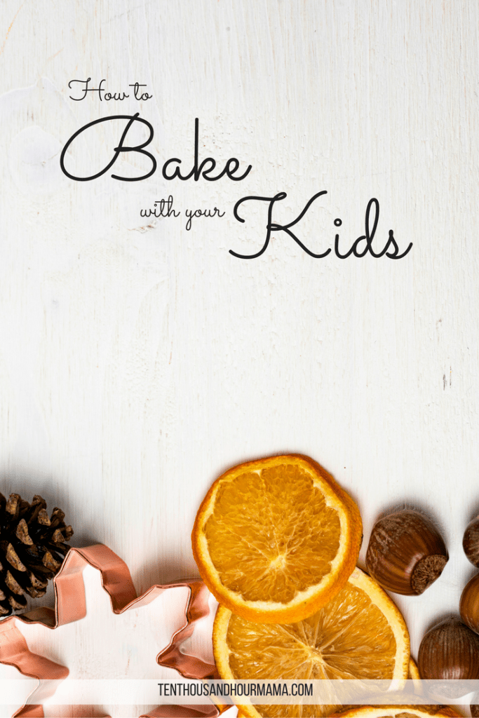 How to bake with your kids - fall cookies & pumpkin spice muffins, here we come! Ten Thousand Hour Mama