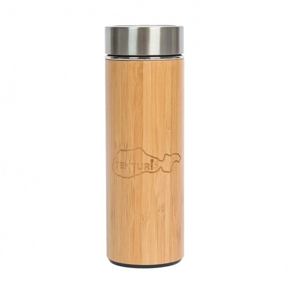 Tee Thermoskanne Thermos Tee Tasse Bamboo