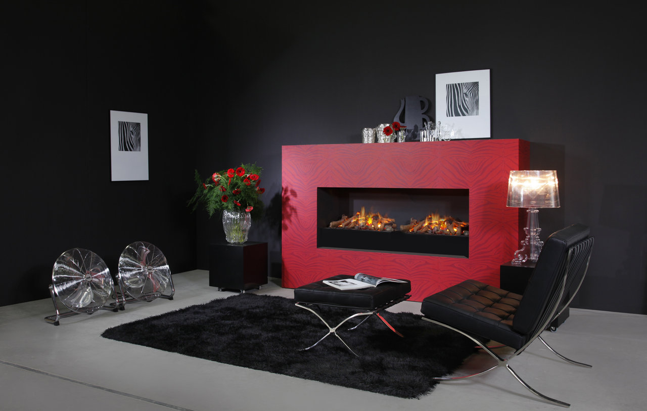 Elektrokamin Opti Myst Opti Myst Cassette L Electric Fire With 3d Flame Effect