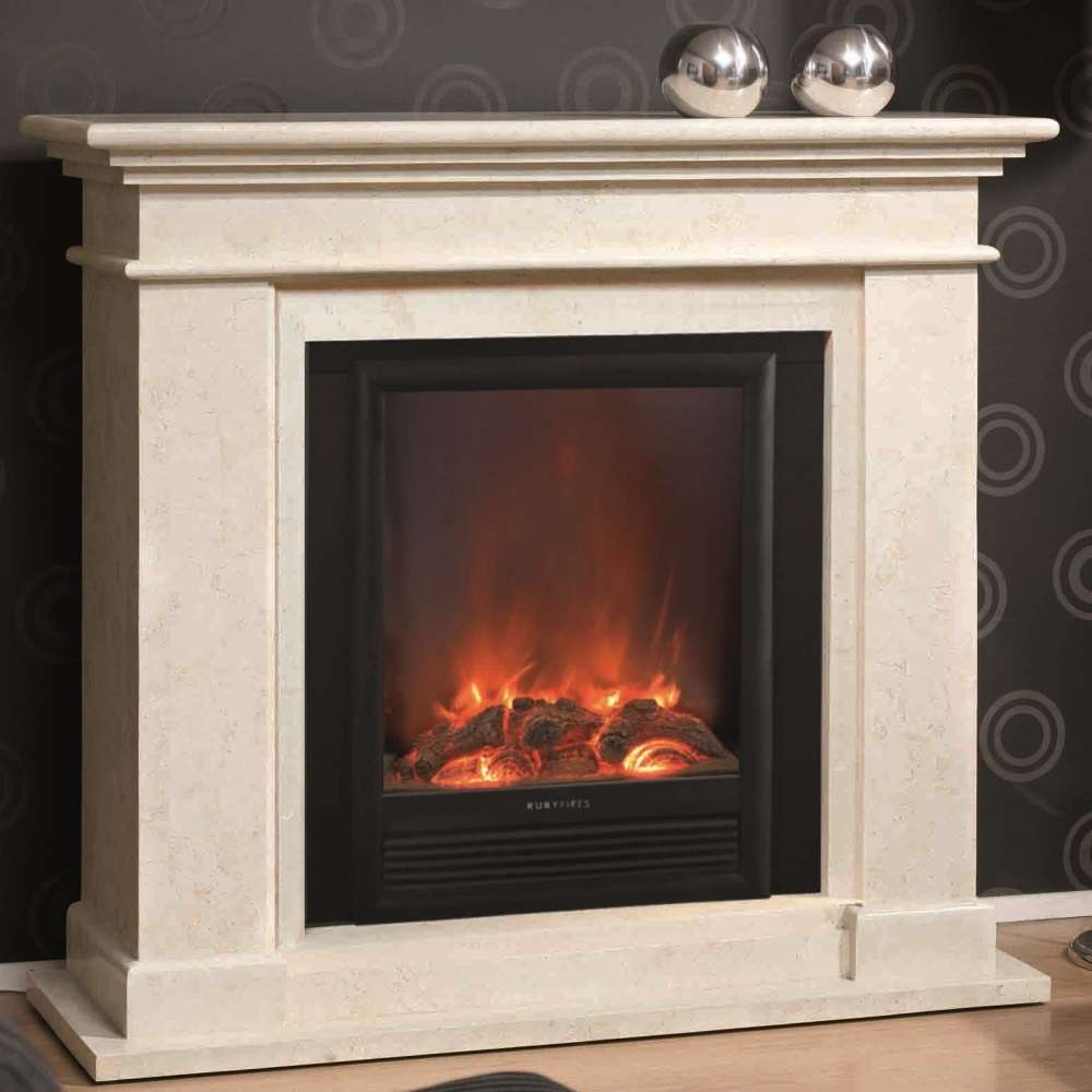 Cheminee Ethanol Design Bois Kos Fossil Stone Fireplace For Electric Or Bio Ethanol Inserts