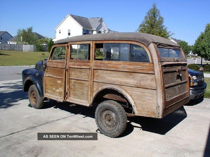 1948 Dodge B1 Woodie Woody Station Wagon