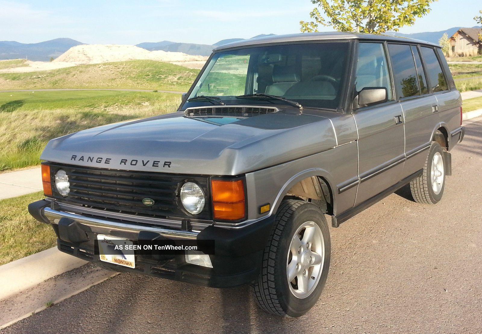 1995 range rover classic fuse box location