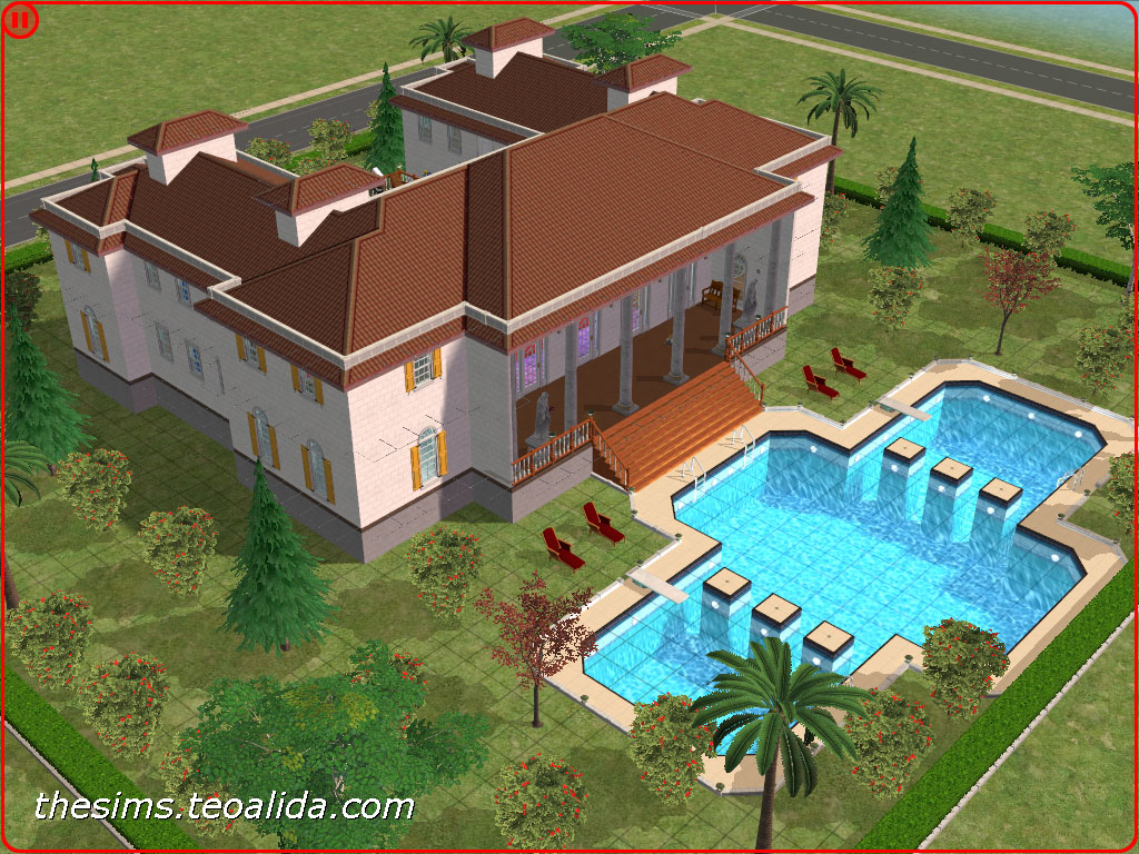 Pool Bauen Sims 4 The Sims 2 Palace The Sims Fan Page