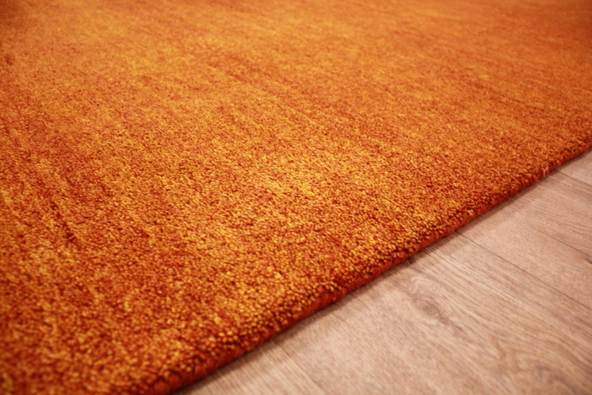 Teppich Orange Orient Teppich Quotgabbeh Quot Reine Wolle 287x196 Cm Orange