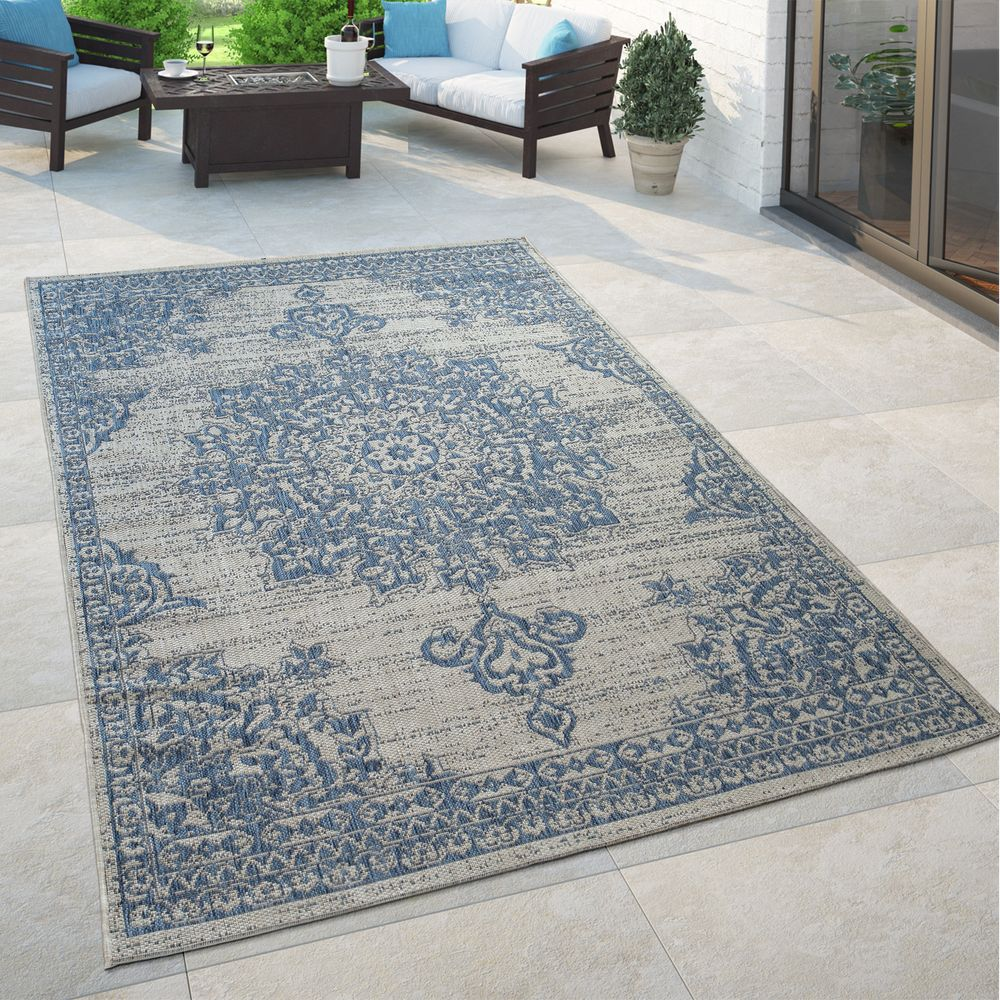 Outdoor Teppich Sale Outdoor Teppich Orient Design Blumen Muster