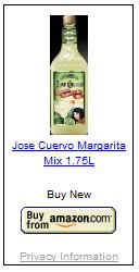 jose cuervo, tequila, margarita, mix, original, lime