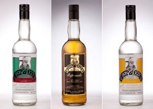 The Don Cuco Sotol line up., jaclyn jacquez