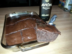 avion espresso, chocolate cake, Festive Holiday Recipes