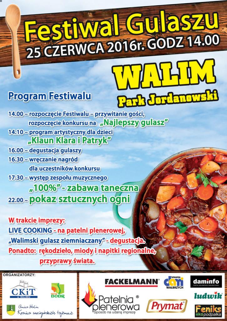 Festiwal Gulaszu 2016 w Gminie Walim
