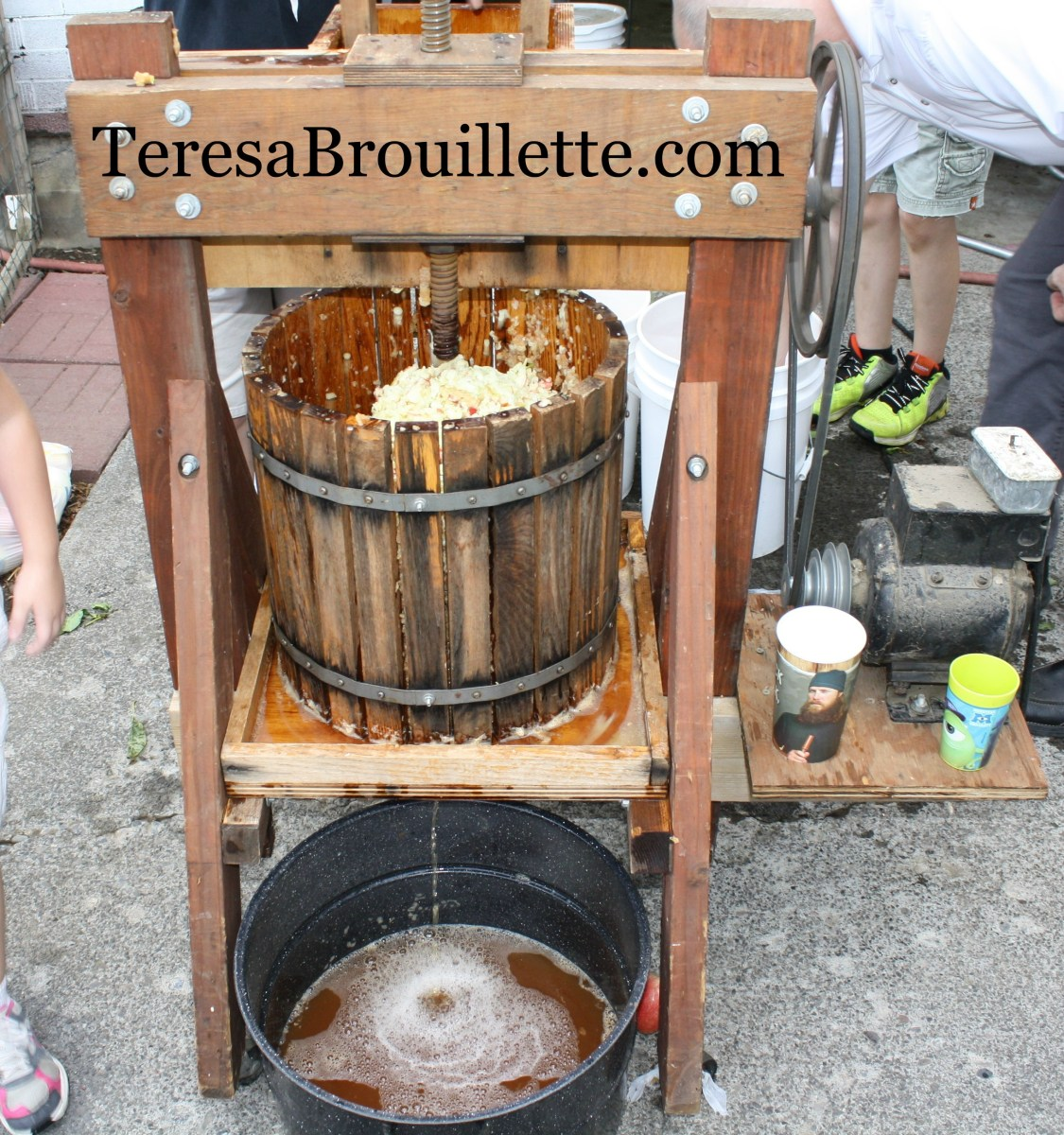 Apple Pressing At Aunties